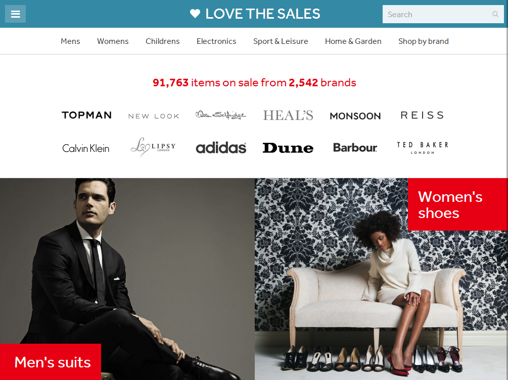 ♥ All of the sales from all your favourite brands - follow top brands to never miss a sale.